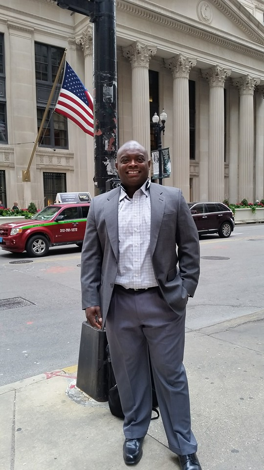 First Financial Security representative James Stewart attended the Financial Literacy Summit in Chicago this past April
